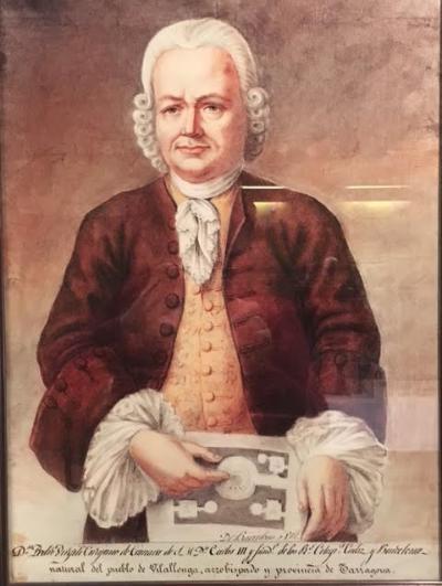 retrato de Pere Virgili en museo Archivo Pere Virgili